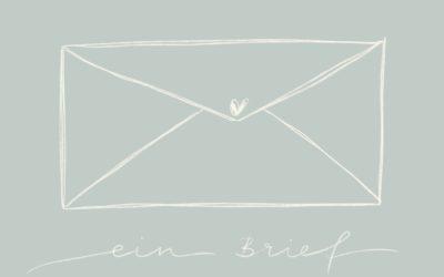 Ein Brief an meinen Papa